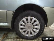 Daewoo Matiz установка передних проставок.