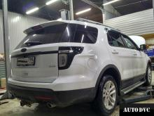 Ford Explorer V увеличение клиренса передней оси.