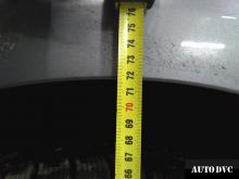 Hyundai Genesis установили задние проставки замер