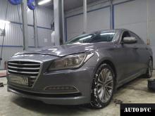 Hyundai Genesis проставки клиренс увеличение