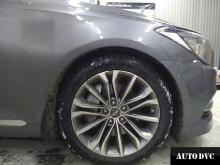 Hyundai Genesis увеличение клиренса передней оси