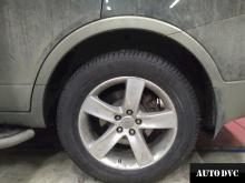 Hyundai IX55 после установки проставок увеличенния клиренса