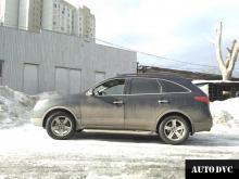 Общий вид Hyundai IX55 после установки проставок