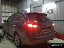 Общий вид до установки проставок Hyundai IX55