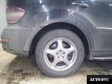 Замеры после установки проставок Mercedes-Benz ML350