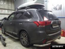 Общий вид установки проставок Mitsubishi Outlander III