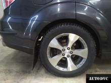 Проставки для увеличения клиренса Subaru Forester III зад
