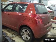 Suzuki Swift увеличение клиренса проставки дорожный просвет
