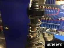 Стойка Honda CR-V III в разборе с проставкой