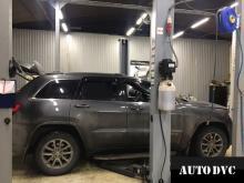 Общий вид Jeep Grand Cherokee до установки проставок