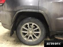 Задняя часть Jeep Grand Cherokee до установки проставок