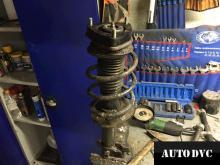 Стойка Kia Sportage III в разборе с проставкой
