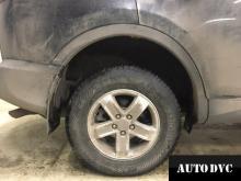 Задняя часть Toyota RAV 4 IV после установки проставок